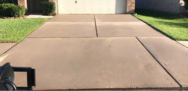 After Concrete Pressure Washing Service