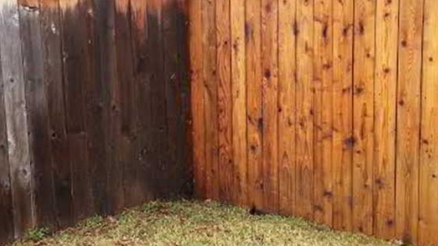 Fence Power Washing Service
